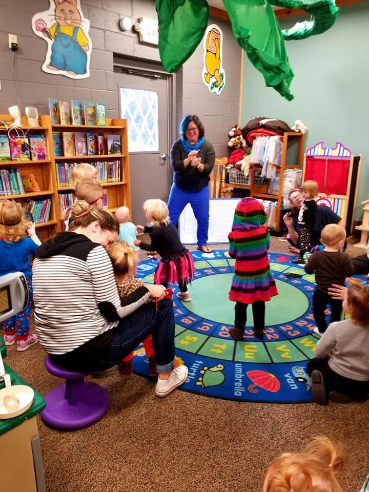 Outside Storytime Wednesdays through August 25